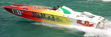 Nomad / Zerodefect boat